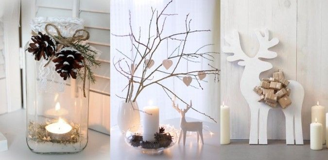 Beyaz rengin asaleti yılbaşında da bizimle ! tamamen doğal malzemelerle fark yaratmak bizim elimizde : )