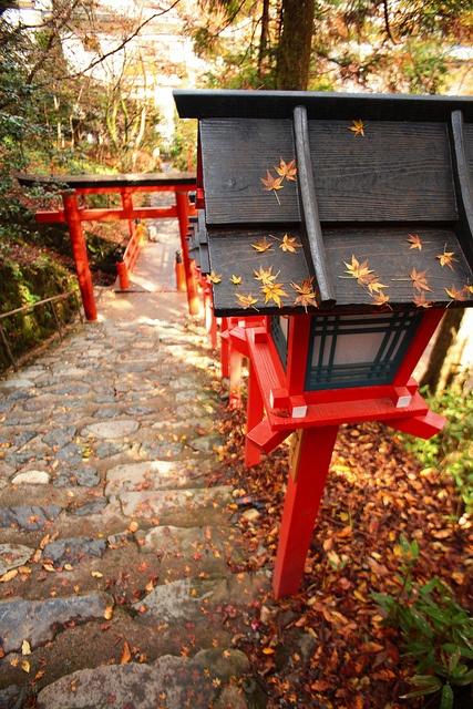 Kibune Shrine in Kyoto, Japan: photo by 咖啡豆