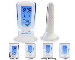 Calming Blue - College Dorm Room Alarm Clock College Supplies