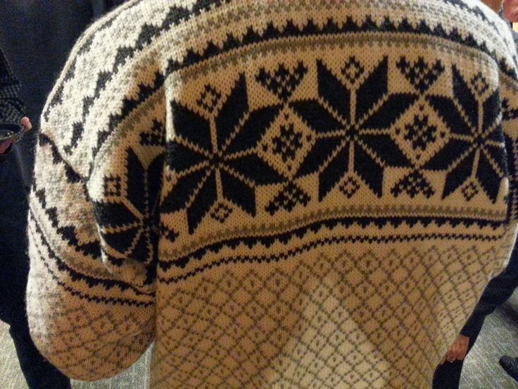 Norwegian sweaters flock to the Hill during winter (especially for the St. Olaf Christmas Festival).