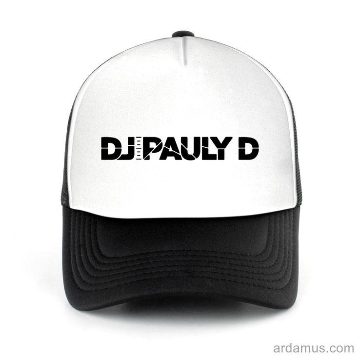 Dj Pauly D Trucker Hat for men or women. Available color black, red, pink, green. Shop more at ARDAMUS.COM #djtruckerhat #djcap #djsnapback #djhat