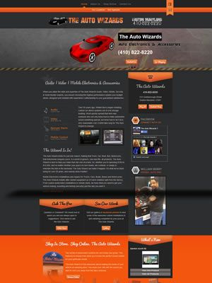 The Auto Wizards Before And After Web Redesign | WebStorme | NC Website Design