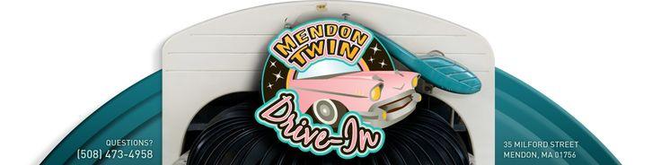 Mendon Twin Drive-In, Mendon, MA