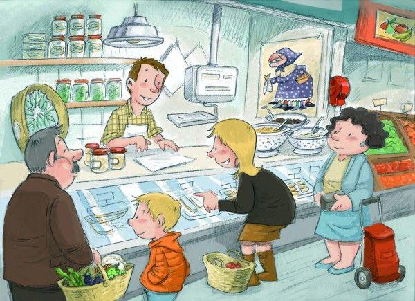 Eligiendo los ingredientes