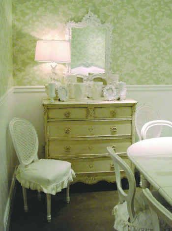 Dresser - Shabby Chic Can Be Green, Too!