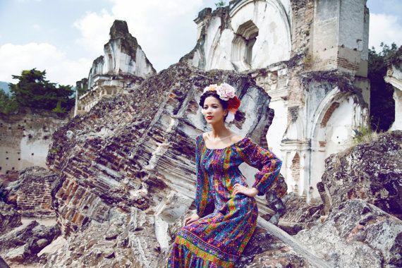 Pompon  Flower Crown  Frida Kahlo  Wedding by katieburley on Etsy, $85.00