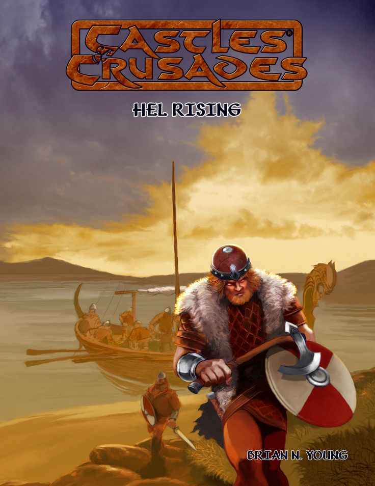New title upcoming for C&C by Brian Young, Rea Hels Rising