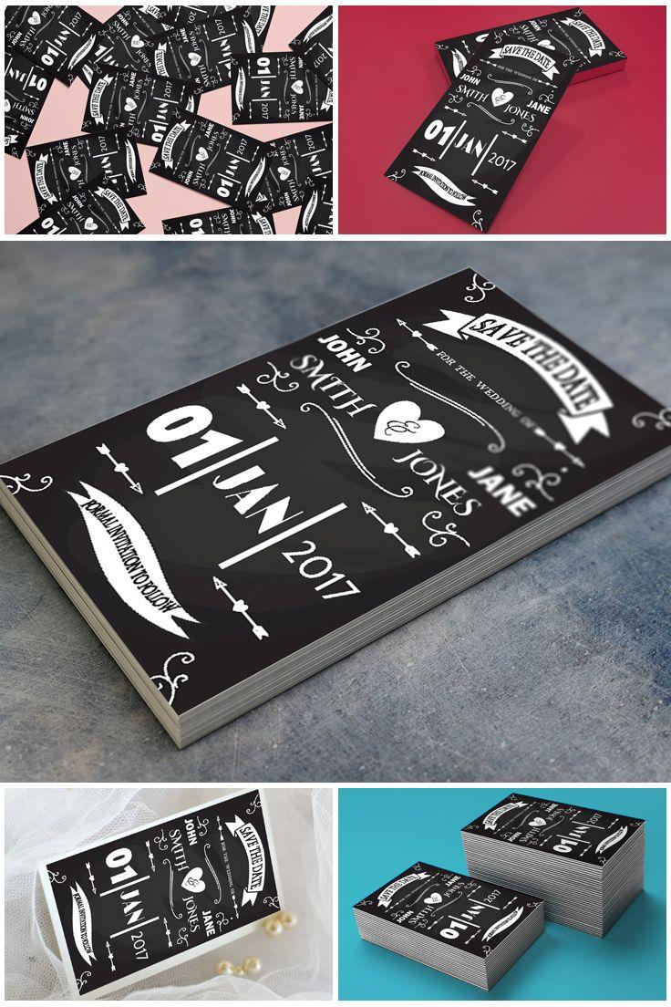 Printable Rustic Chalkboard Wedding Invitation Suite Template  #prandski #weddingsuk #diywedding #weddingsuite