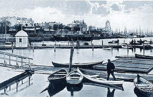 Old postcard of #Vyborg