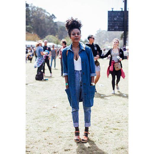 See the most stylish Black gals who attended the Outside Lands Art and Music Festival | Essence.com