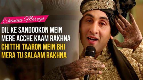 Channa Mereya Lyrics is soul of Ae Dil Hai Mushkil music album. Karan Johar's favorite song in the album, the lyrics are given by Amitabh Bhattacharya