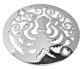 Octopus Shower Drain - contemporary - showers - by Designer Drains - Really want this for my bathroom!