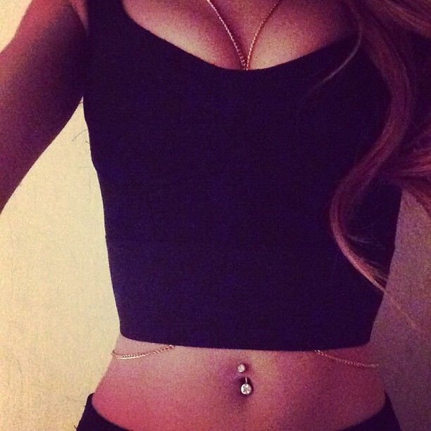 I want a belly button ring SO BAD XXX