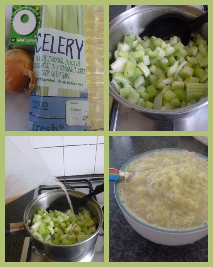 How to Make Healthy Vegetarian Celery Soup Click the image for the recipe