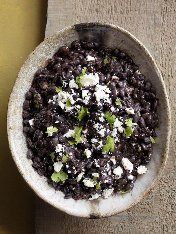 Good things come to those who wait. These creamy black beans are the proof in the pudding (or at least in the very tasty side dish)