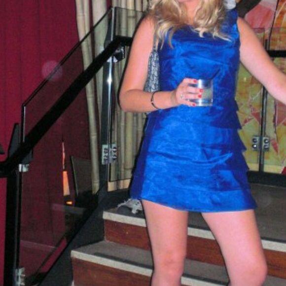 Selling this Royal blue party dress on Poshmark! My username is: misserinm125. #shopmycloset #poshmark #fashion #shopping #style #forsale #ASOS #Dresses & Skirts