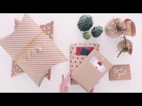 Tre sätt att slå in paket - Inspiration & inredningstips | Lagerhaus