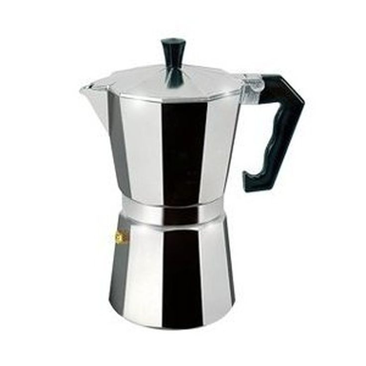Stovetop Espresso Pots: 6 Cup Stovetop Espresso Maker - For Gas, Electric, or Ceramic Stovetops ||| ||| ||| 6 Cup Stovetop Espresso Maker - For Gas, Electric, or Ceramic Stovetops :Stovetop Espresso Pots