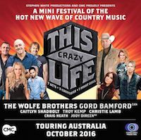 The Wolfe Brothers  This Crazy Life Tour Heading out on tour with Christie Lamb, Troy Kemp, Caitlyn Shadbolt and more ..  Country Music News:  www.workingbull.com.au