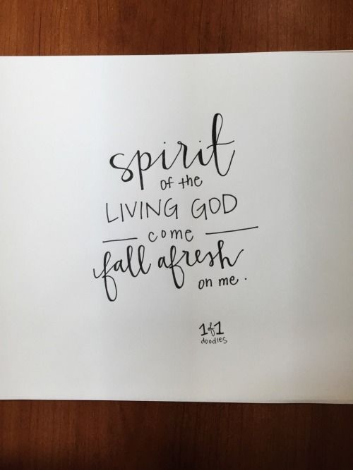 Spirit of the living God come fall afresh on me // Bethel Music