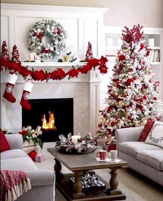 20+ Christmas Mantel Decoration Ideas Christmas Decorations