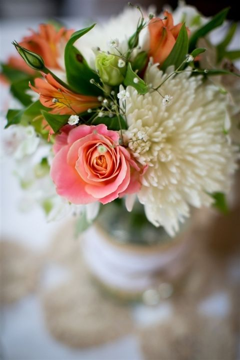 LOVE the pink and orange pops of colour