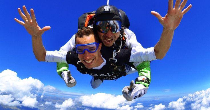 Les meilleures sensations! #sautparachute
