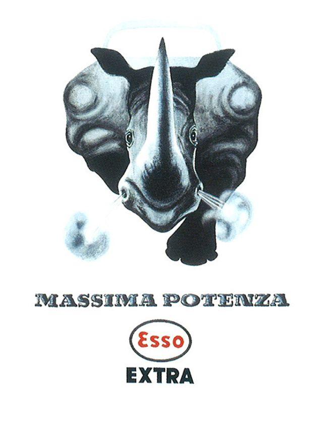 Armando Testa, Esso Extra, 1956