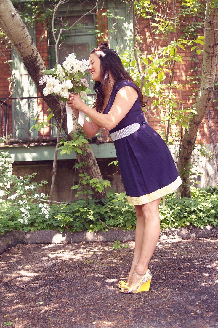 Robe par Jennifer Glasgow design  Photographe: Elise Lecomte Photographe Stylisme: Mademoizèle - Stylisme et marketing MUAH: Sailor Jassie Mannequin: Pascale Ouellet