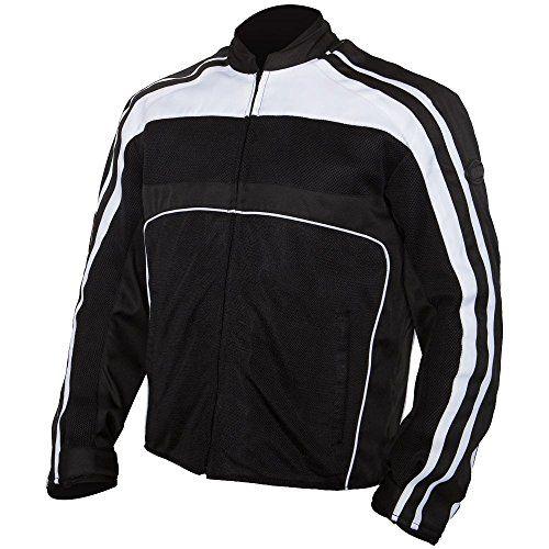 BILT Retro Mesh Motorcycle Jacket  MD Black/White/Black Review https://motorcyclejacketsusa.info/bilt-retro-mesh-motorcycle-jacket-md-blackwhiteblack-review/