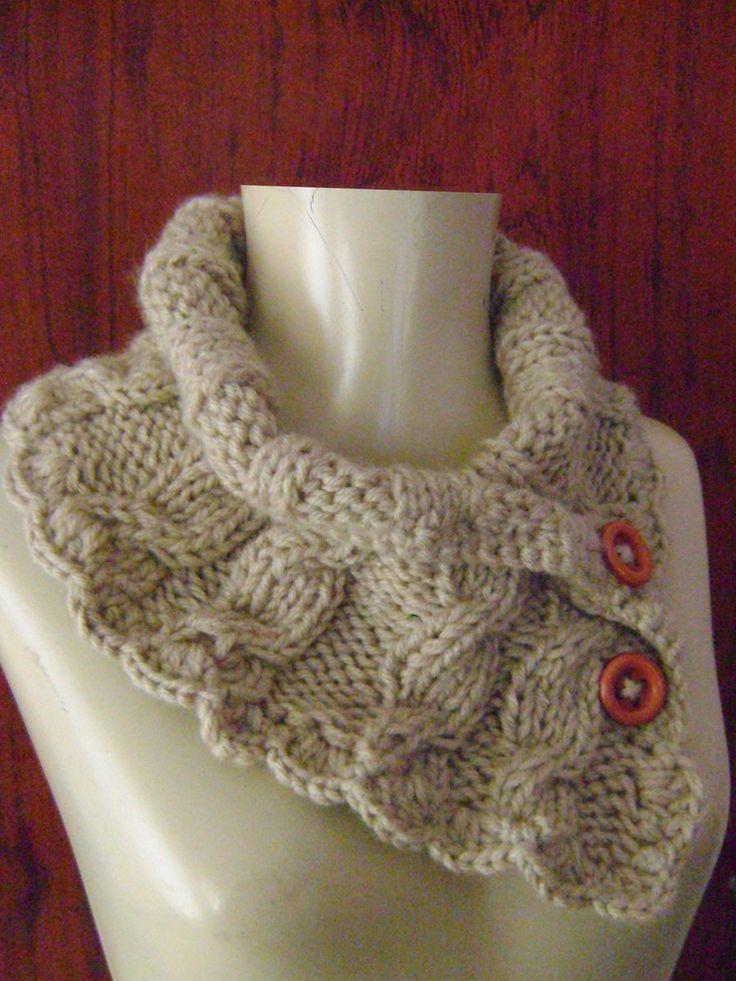 **Especificação do Produto: <br>Gola em tricô, fio com um toque macio e…                                                                                                                                                                                 Mais