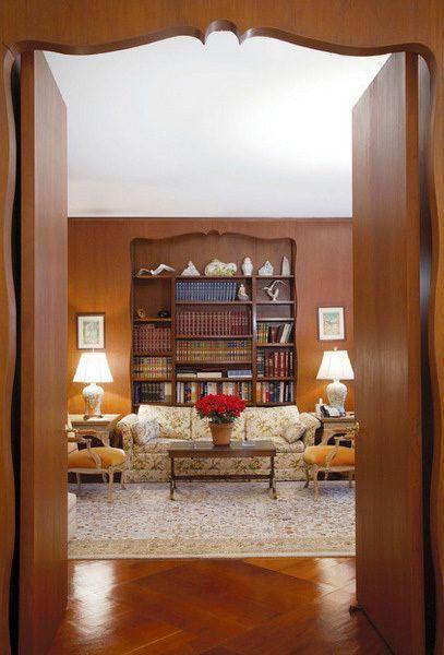 Music Room Piano Bookshelves