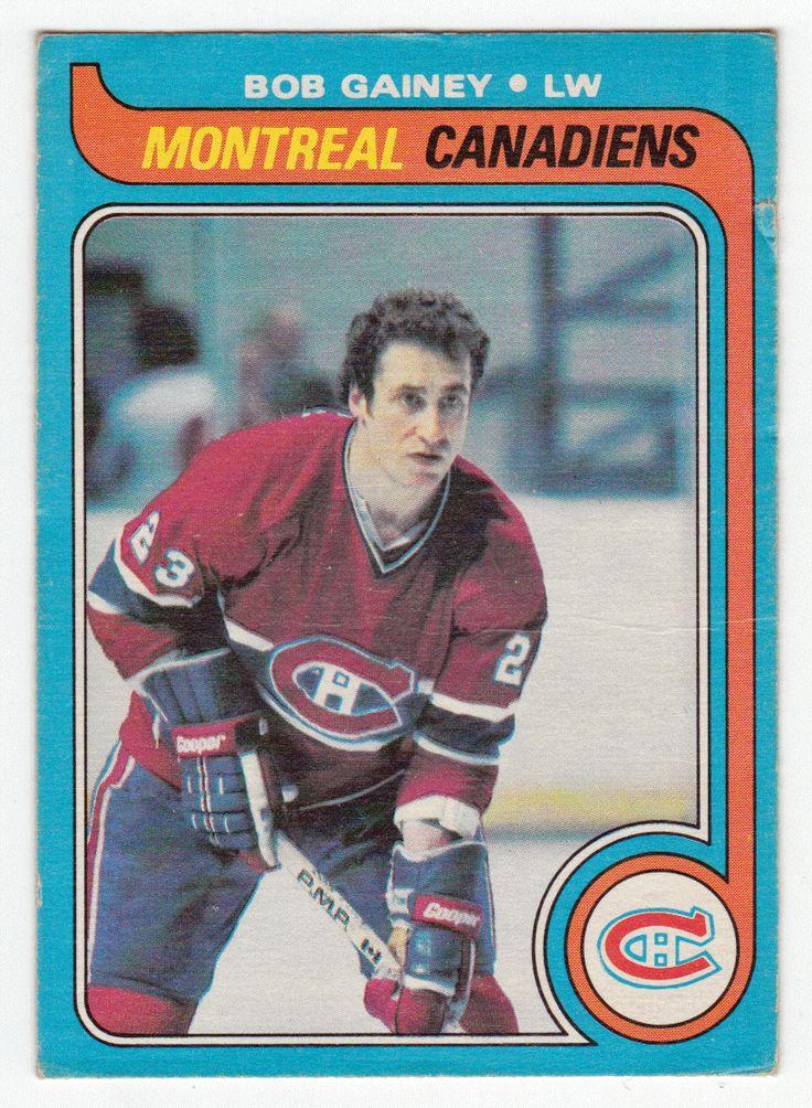 Bob Gainey # 170 - 1979-80 O-Pee-Chee Hockey