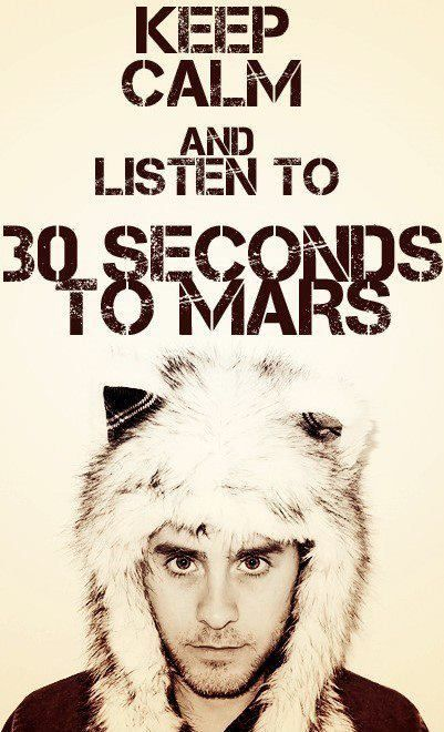 DAMN! Even when he's being adorable he's also being HOT HOT HOT HOT HOT. 30 seconds to mars