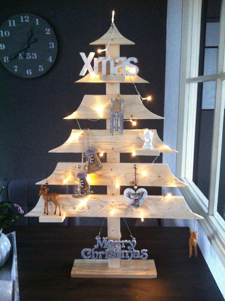 Mijn houten kerstboom