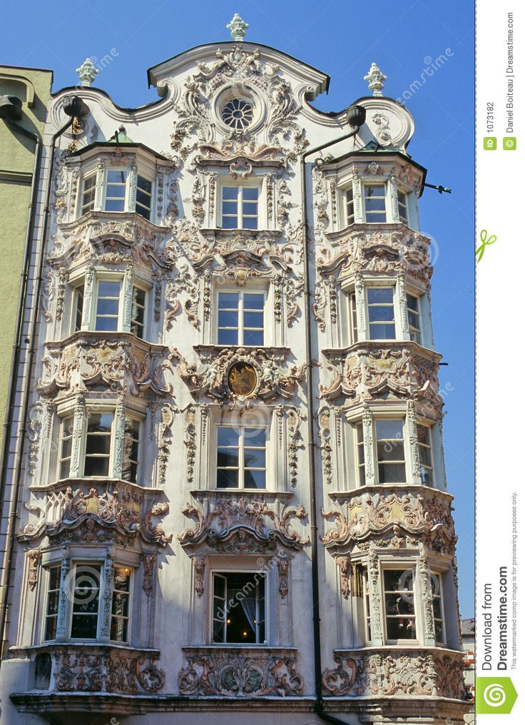 One Of The Most Famous Rococo Style Building In Innsbruck