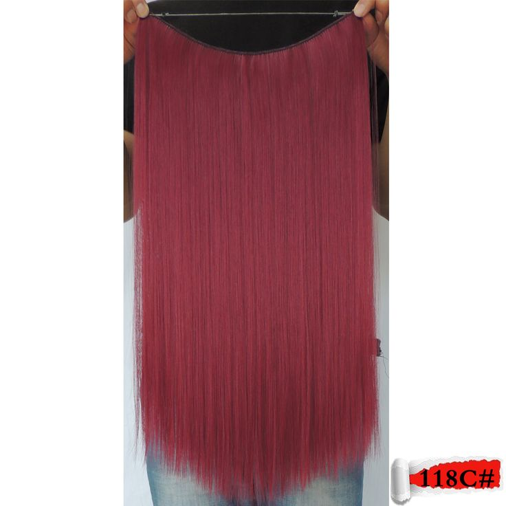 cabelo sintetico for red hair extensions colored extensiones cosplay in 20 inch 50g currant crazy color 118c straight