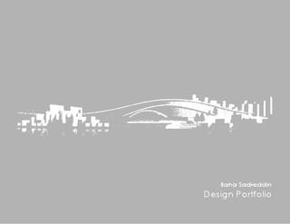 Architecture Portfolio | Baha Sadreddin
