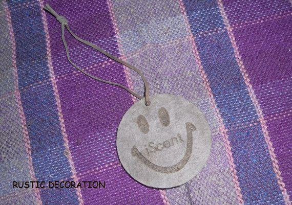 Felt Smiley iScent Trinket Key