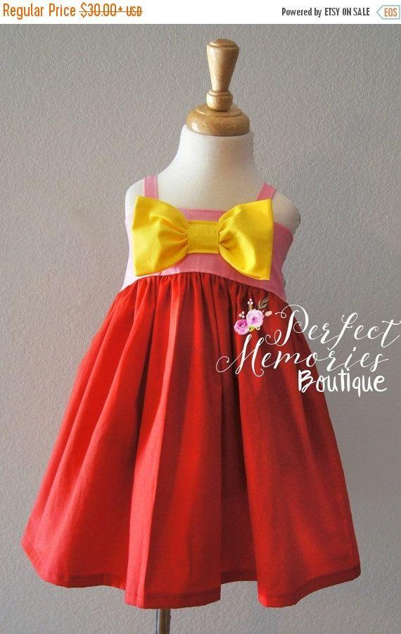 SALE Peppa Pig Dress Peppa Dress Girls Peppa Pig Dress by ThePMB