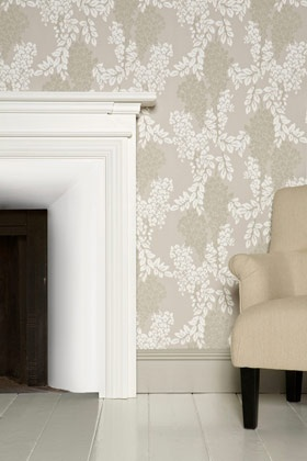 DIY:: Farrow & Ball's (The Wallpaper Masters) How to Wallpaper any Room Tutorial - It is Genius & Printable