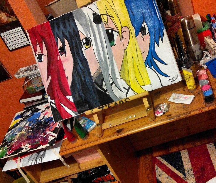 Girls from High School DxD :3 Rias Gremory, Akeno Himejima, Koneko Toujou, Asia Argento, Xenovia Quarta