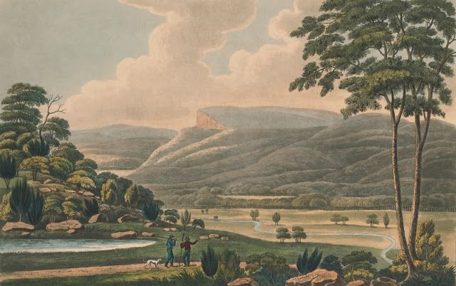 The Table Mountain, From the end of Jericho Plains, Van Dieman's Land 1825