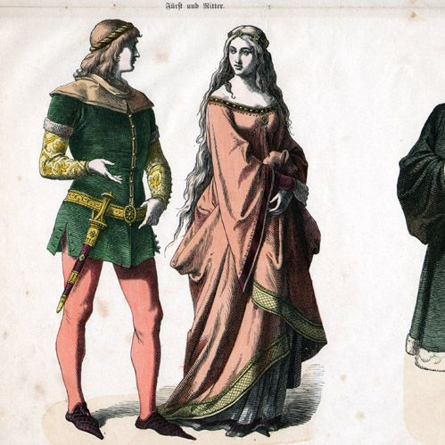 7c6651f1ff Fashion - Uniform - Germany - Prince (14th Century - XIVth Century