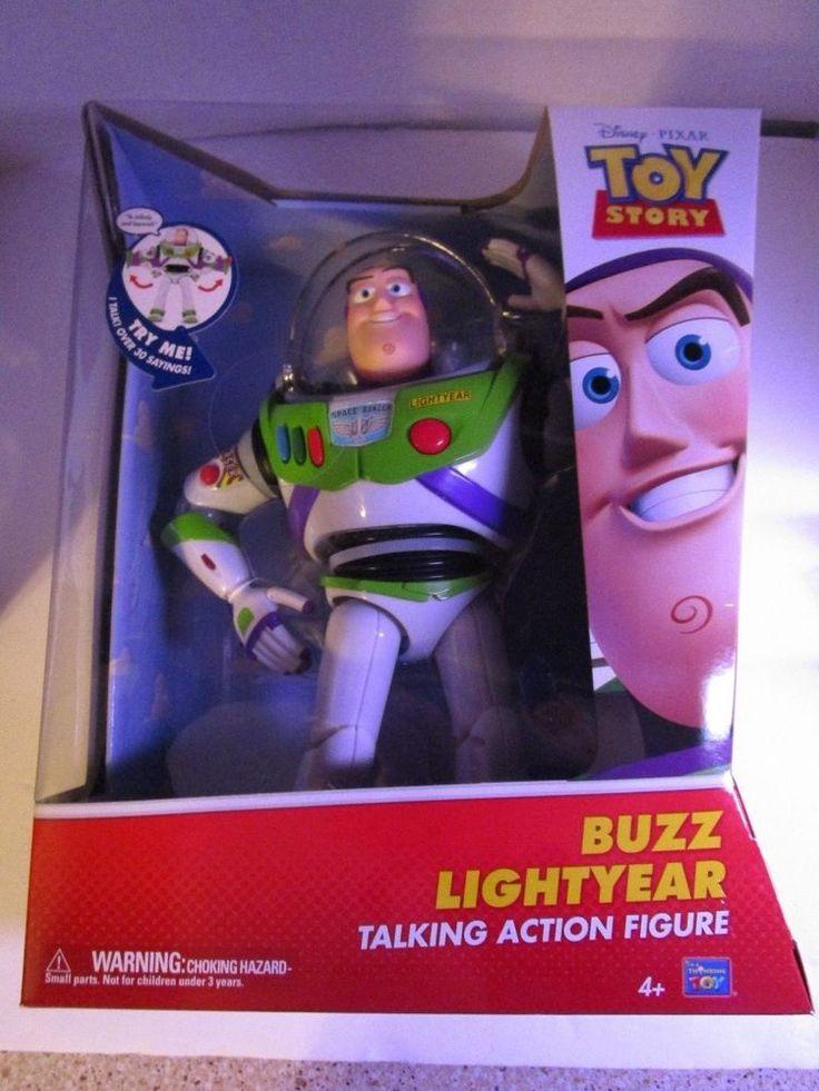 Disney Pixar Toy Story BUZZ LIGHTYEAR 12 inch Talking Action Figure #64070 New #ThinkwayToys