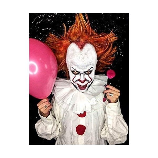 Amazon.com : Evil Clown Halloween Makeup Kit - Professional Costume... ($239) ❤ liked on Polyvore featuring beauty products and makeup