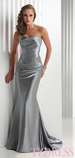 I have nowhere to wear thus but it is gorgeous