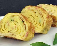 Omelete Japonesa   Acompanhamentos > Omelete   Mais Você - Receitas Gshow