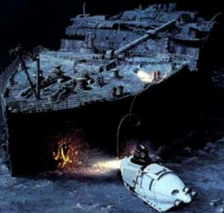 Destroyed titanic