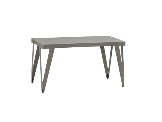 Functionals, Lloyd Worktable (140x70cm) Indoor dark grey, Design: Serener http://functionals.eu/products/tables/lloyd_table
